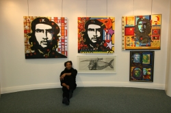 Exhibition at Haverfordwest Library