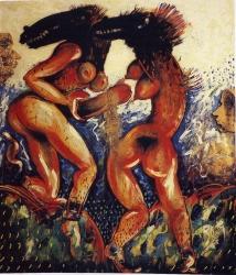 Adam, Eva, Dios y el Diablo