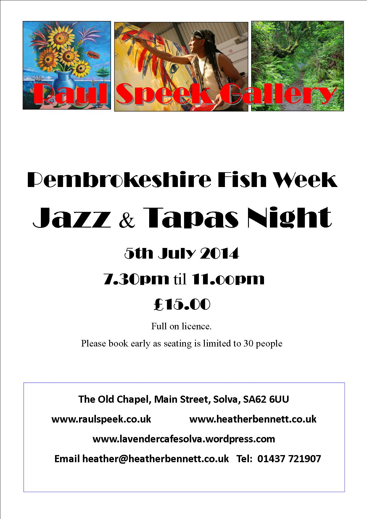 Fish Week RSG poster