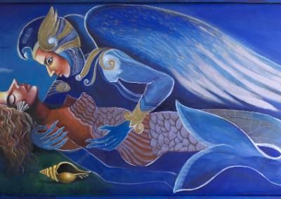 El Angel y la Cirena