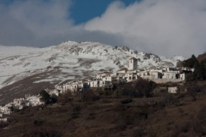Capileira in the Snow  November
